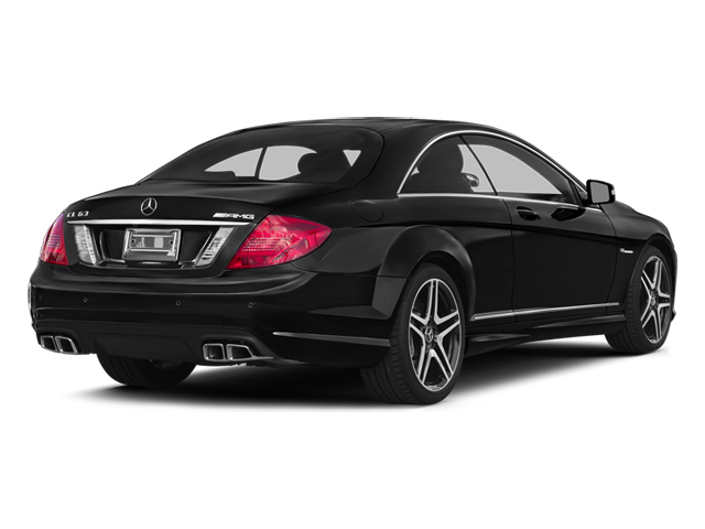 Magnetite Black Metallic 2014 Mercedes-Benz CL-Class Pictures CL-Class Coupe 2D CL63 AMG V8 Turbo photos rear view