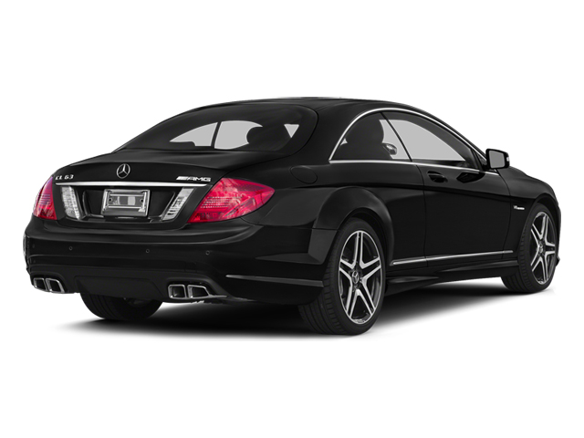 Obsidian Black Metallic 2014 Mercedes-Benz CL-Class Pictures CL-Class Coupe 2D CL63 AMG V8 Turbo photos rear view