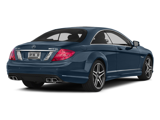 Monarch Blue Metallic 2014 Mercedes-Benz CL-Class Pictures CL-Class Coupe 2D CL63 AMG V8 Turbo photos rear view