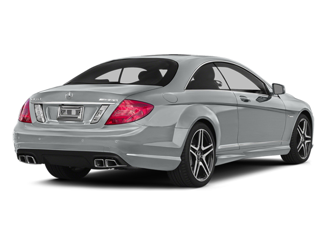 Iridium Silver Metallic 2014 Mercedes-Benz CL-Class Pictures CL-Class Coupe 2D CL63 AMG V8 Turbo photos rear view