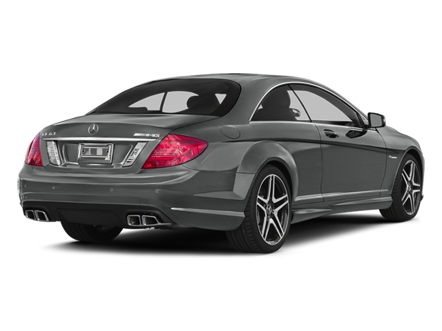 Palladium Silver Metallic 2014 Mercedes-Benz CL-Class Pictures CL-Class Coupe 2D CL63 AMG V8 Turbo photos rear view