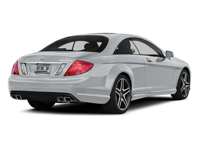 Diamond Silver Metallic 2014 Mercedes-Benz CL-Class Pictures CL-Class Coupe 2D CL63 AMG V8 Turbo photos rear view