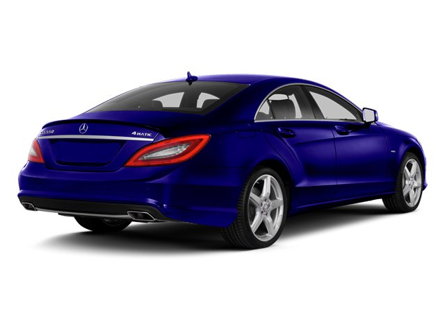 designo Mystic Blue 2014 Mercedes-Benz CLS-Class Pictures CLS-Class Sedan 4D CLS550 photos rear view