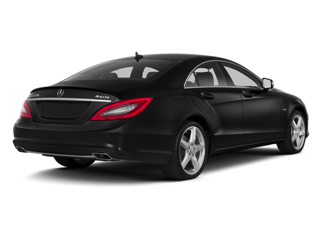 Obsidian Black Metallic 2014 Mercedes-Benz CLS-Class Pictures CLS-Class Sedan 4D CLS550 photos rear view