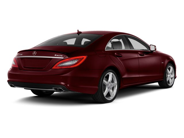 Storm Red Metallic 2014 Mercedes-Benz CLS-Class Pictures CLS-Class Sedan 4D CLS550 AWD photos rear view