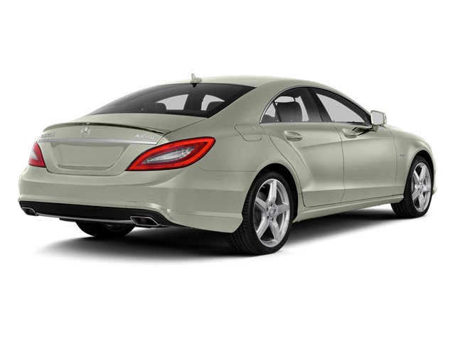 Iridium Silver Metallic 2014 Mercedes-Benz CLS-Class Pictures CLS-Class Sedan 4D CLS550 photos rear view