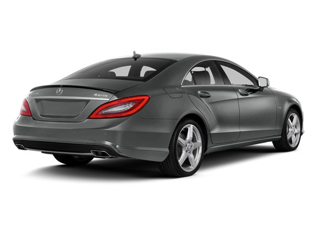 Palladium Silver Metallic 2014 Mercedes-Benz CLS-Class Pictures CLS-Class Sedan 4D CLS550 photos rear view
