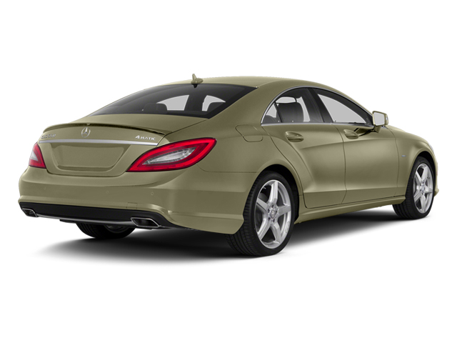 Pearl Beige Metallic 2014 Mercedes-Benz CLS-Class Pictures CLS-Class Sedan 4D CLS550 AWD photos rear view