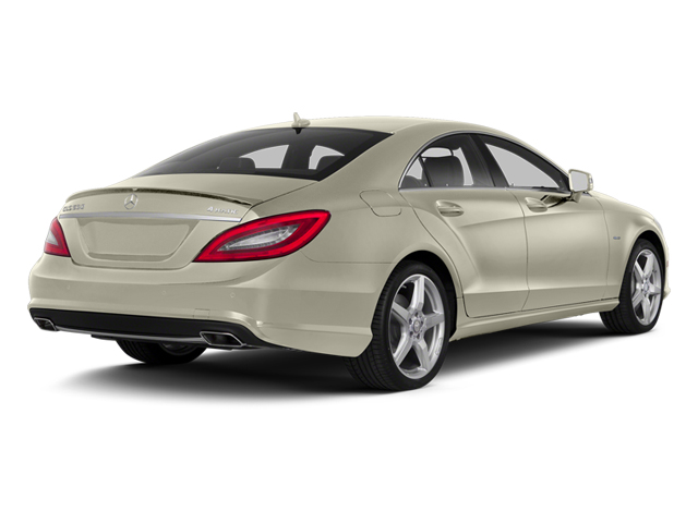 Diamond White Metallic 2014 Mercedes-Benz CLS-Class Pictures CLS-Class Sedan 4D CLS550 photos rear view