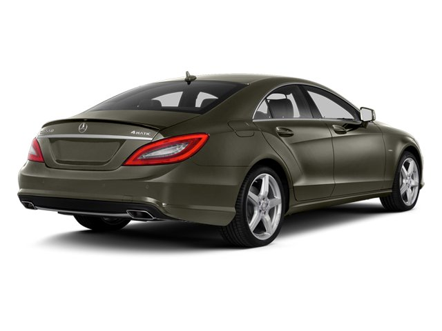 Indium Gray Metallic 2014 Mercedes-Benz CLS-Class Pictures CLS-Class Sedan 4D CLS550 photos rear view