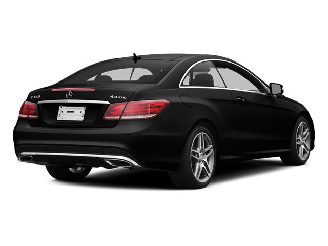 Obsidian Black Metallic 2014 Mercedes-Benz E-Class Pictures E-Class Coupe 2D E350 AWD V6 photos rear view