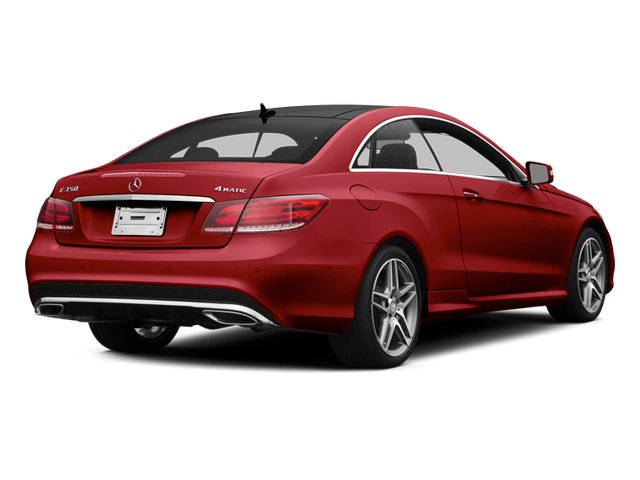 Mars Red 2014 Mercedes-Benz E-Class Pictures E-Class Coupe 2D E350 AWD V6 photos rear view