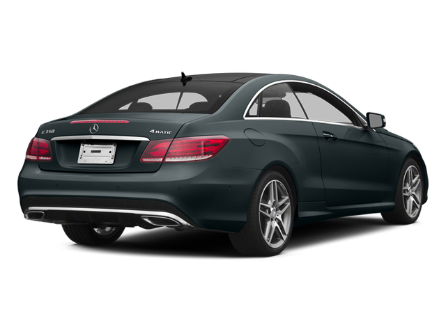 Steel Gray Metallic 2014 Mercedes-Benz E-Class Pictures E-Class Coupe 2D E350 AWD V6 photos rear view