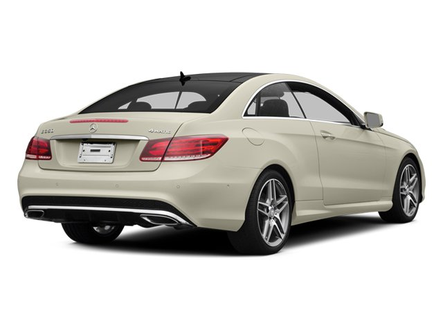 Diamond White Metallic 2014 Mercedes-Benz E-Class Pictures E-Class Coupe 2D E350 AWD V6 photos rear view