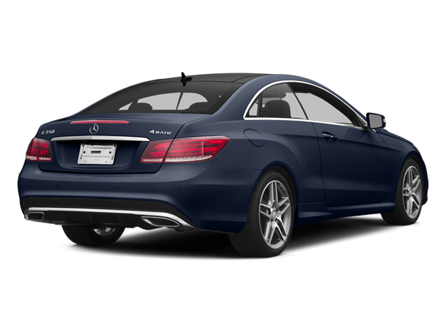 Lunar Blue Metallic 2014 Mercedes-Benz E-Class Pictures E-Class Coupe 2D E350 AWD V6 photos rear view