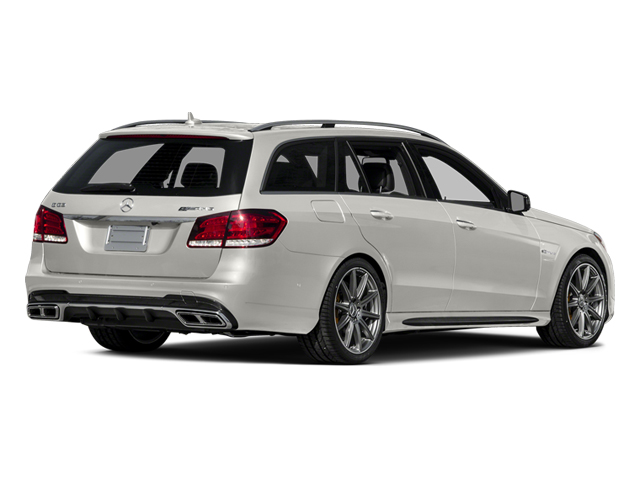 designo Magno Cashmere White (Matte Finish) 2014 Mercedes-Benz E-Class Pictures E-Class Wagon 4D E63 AMG S AWD V8 Turbo photos rear view