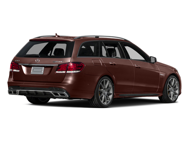 designo Mystic Brown 2014 Mercedes-Benz E-Class Pictures E-Class Wagon 4D E63 AMG S AWD V8 Turbo photos rear view