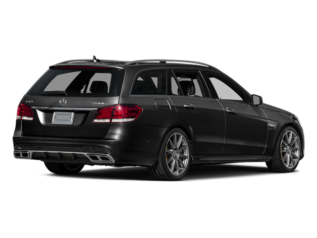 Obsidian Black Metallic 2014 Mercedes-Benz E-Class Pictures E-Class Wagon 4D E63 AMG S AWD V8 Turbo photos rear view