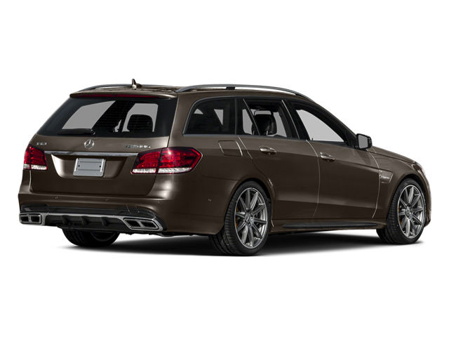 Dolomite Brown 2014 Mercedes-Benz E-Class Pictures E-Class Wagon 4D E63 AMG S AWD V8 Turbo photos rear view