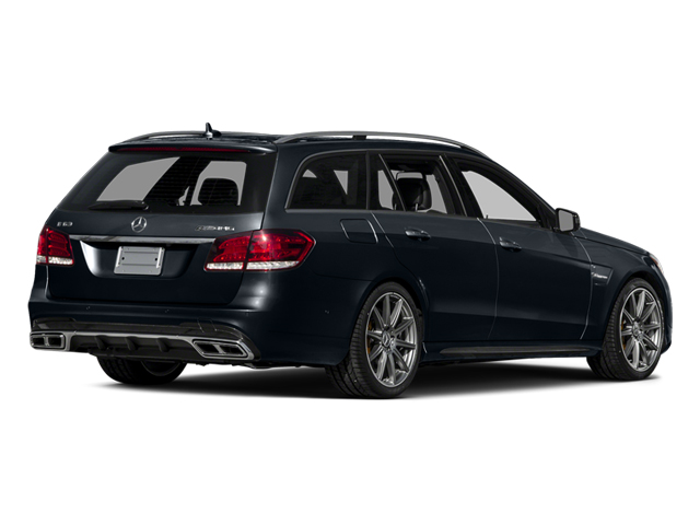 Indigo Blue Metallic 2014 Mercedes-Benz E-Class Pictures E-Class Wagon 4D E63 AMG S AWD V8 Turbo photos rear view