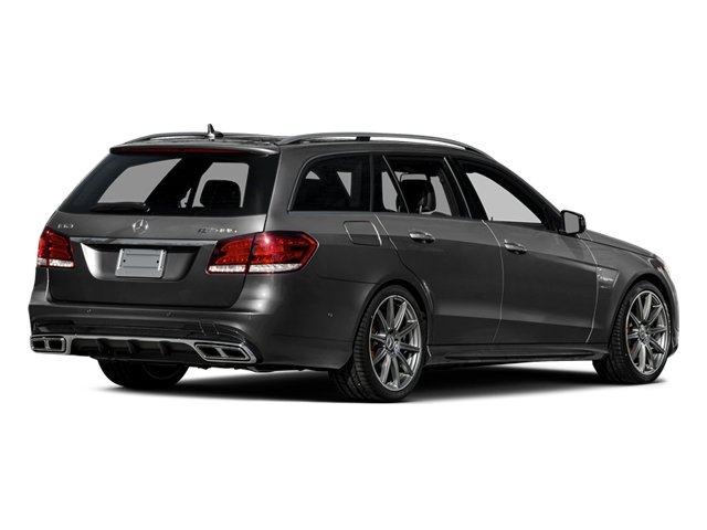 Steel Gray Metallic 2014 Mercedes-Benz E-Class Pictures E-Class Wagon 4D E63 AMG S AWD V8 Turbo photos rear view