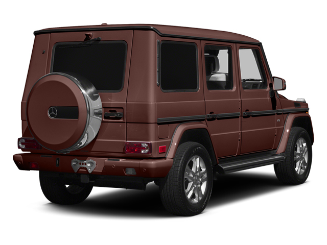 designo Mystic Brown 2014 Mercedes-Benz G-Class Pictures G-Class 4 Door Utility 4Matic photos rear view