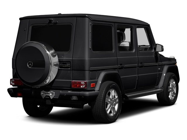 designo Magno Night Black (Matte Finish) 2014 Mercedes-Benz G-Class Pictures G-Class 4 Door Utility 4Matic photos rear view