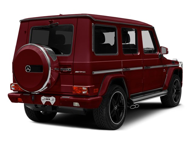 designo Mystic Red 2014 Mercedes-Benz G-Class Pictures G-Class 4 Door Utility 4Matic photos rear view