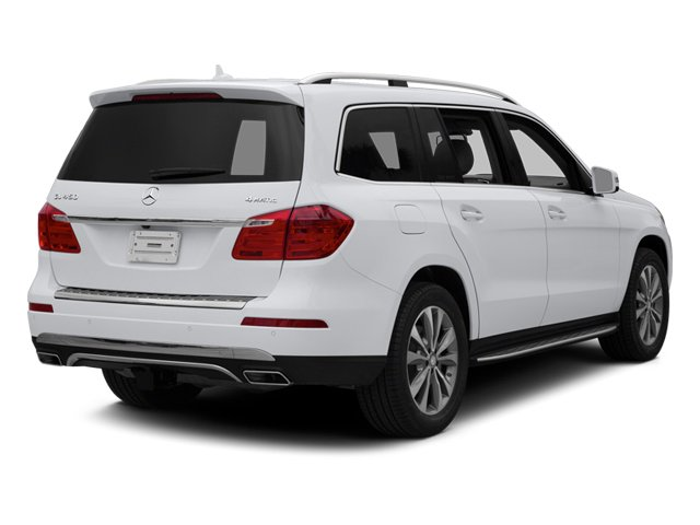 Polar White 2014 Mercedes-Benz GL-Class Pictures GL-Class Utility 4D GL450 4WD V8 photos rear view