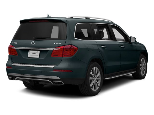 Steel Gray Metallic 2014 Mercedes-Benz GL-Class Pictures GL-Class Utility 4D GL450 4WD V8 photos rear view