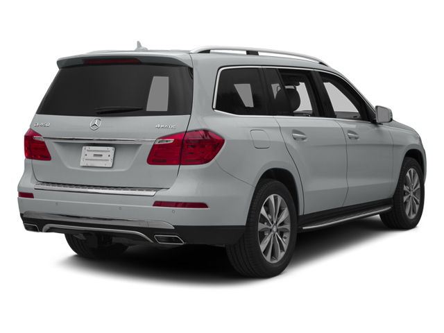 Iridium Silver Metallic 2014 Mercedes-Benz GL-Class Pictures GL-Class Utility 4D GL450 4WD V8 photos rear view
