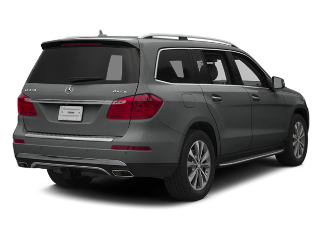 Palladium Silver Metallic 2014 Mercedes-Benz GL-Class Pictures GL-Class Utility 4D GL450 4WD V8 photos rear view