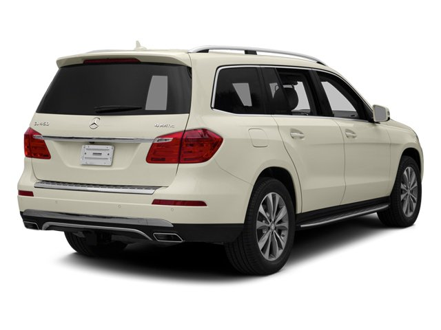 Diamond White Metallic 2014 Mercedes-Benz GL-Class Pictures GL-Class Utility 4D GL450 4WD V8 photos rear view
