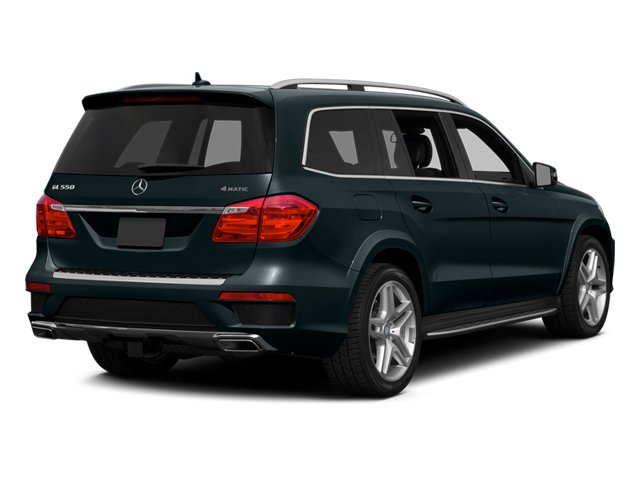 Steel Gray Metallic 2014 Mercedes-Benz GL-Class Pictures GL-Class Utility 4D GL550 4WD V8 photos rear view
