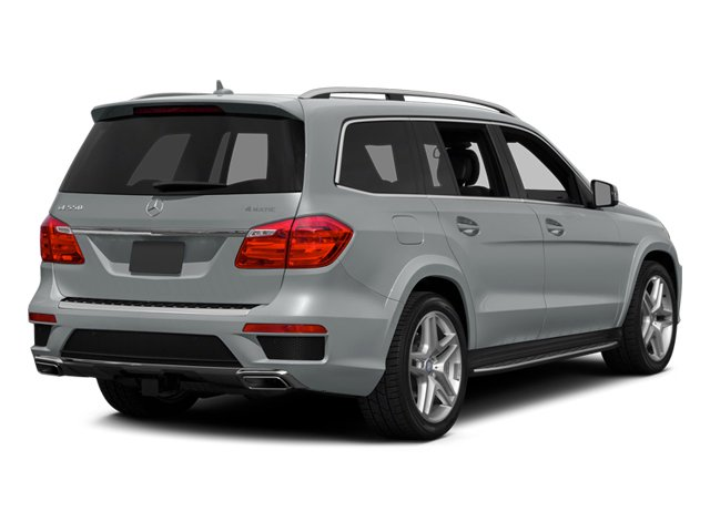 Iridium Silver Metallic 2014 Mercedes-Benz GL-Class Pictures GL-Class Utility 4D GL550 4WD V8 photos rear view