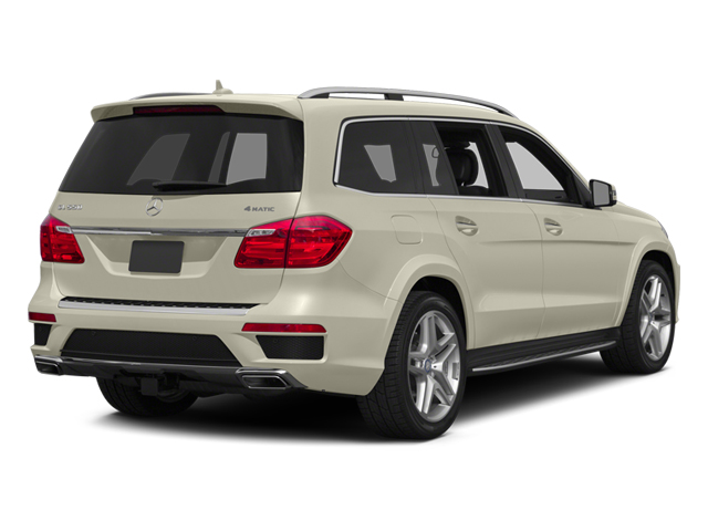 Diamond White Metallic 2014 Mercedes-Benz GL-Class Pictures GL-Class Utility 4D GL550 4WD V8 photos rear view