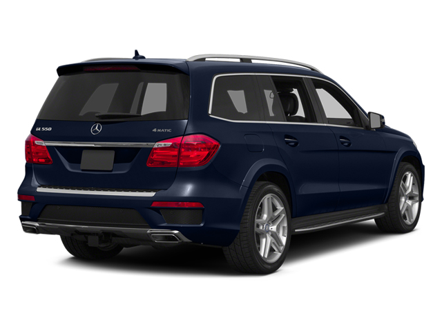 Lunar Blue Metallic 2014 Mercedes-Benz GL-Class Pictures GL-Class Utility 4D GL550 4WD V8 photos rear view