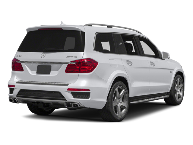 Polar White 2014 Mercedes-Benz GL-Class Pictures GL-Class Utility 4D GL63 AMG 4WD V8 photos rear view