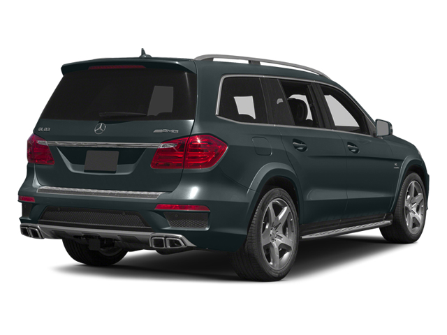 Steel Gray Metallic 2014 Mercedes-Benz GL-Class Pictures GL-Class Utility 4D GL63 AMG 4WD V8 photos rear view