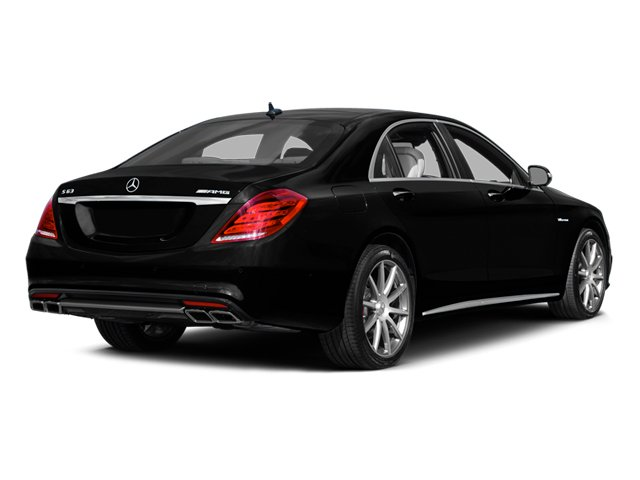 Magnetite Black Metallic 2014 Mercedes-Benz S-Class Pictures S-Class Sedan 4D S63 AMG AWD V8 Turbo photos rear view