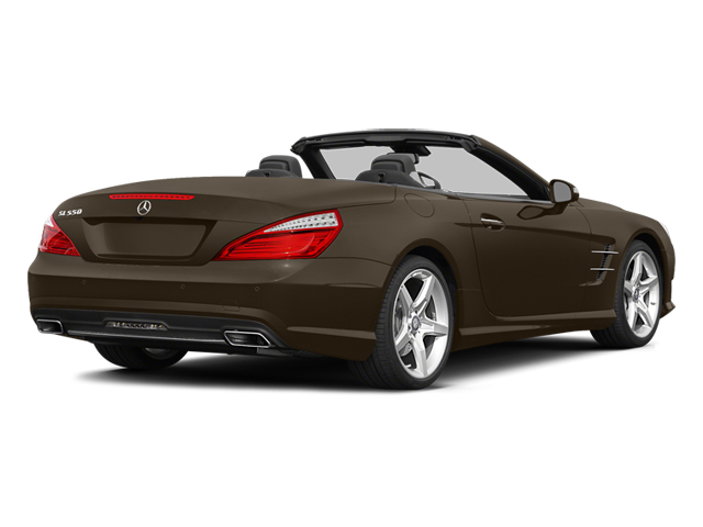 Dolomite Brown 2014 Mercedes-Benz SL-Class Pictures SL-Class Roadster 2D SL550 V8 Turbo photos rear view