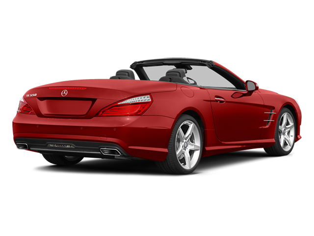 Hyacinth Red Metallic 2014 Mercedes-Benz SL-Class Pictures SL-Class Roadster 2D SL550 V8 Turbo photos rear view