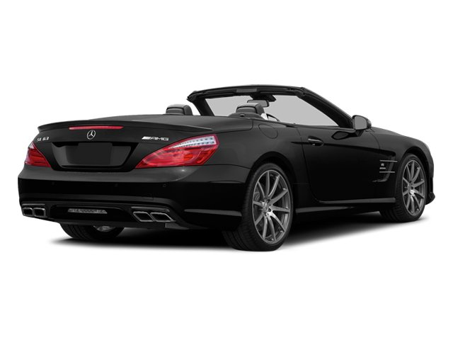 Black 2014 Mercedes-Benz SL-Class Pictures SL-Class Roadster 2D SL63 AMG V8 Turbo photos rear view