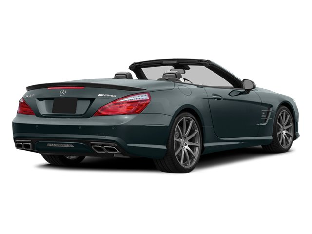 Steel Gray Metallic 2014 Mercedes-Benz SL-Class Pictures SL-Class Roadster 2D SL63 AMG V8 Turbo photos rear view