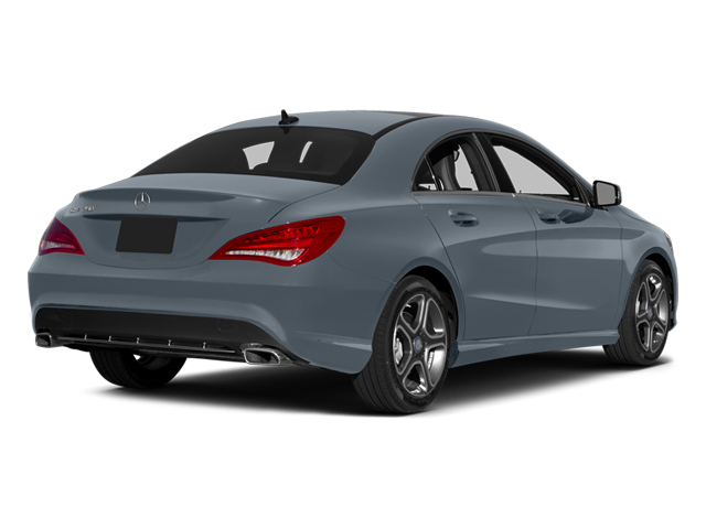 Universe Blue Metallic 2014 Mercedes-Benz CLA-Class Pictures CLA-Class Sedan 4D CLA250 AWD I4 Turbo photos rear view