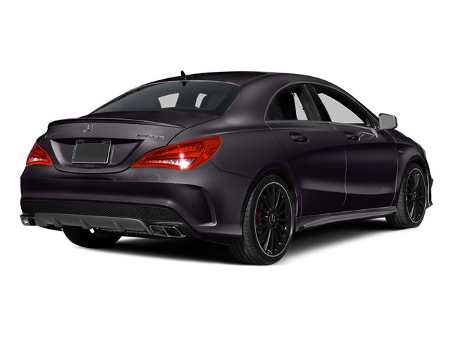 Northern Lights Violet Metallic 2014 Mercedes-Benz CLA-Class Pictures CLA-Class Sedan 4D CLA45 AMG AWD I4 Turbo photos rear view