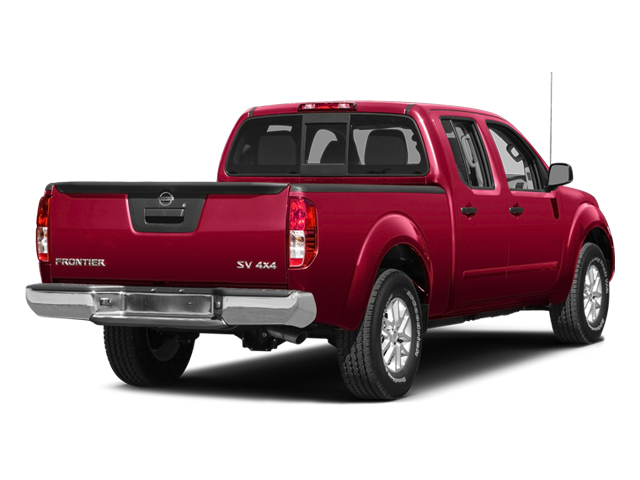 Lava Red 2014 Nissan Frontier Pictures Frontier Crew Cab Desert Runner 2WD photos rear view