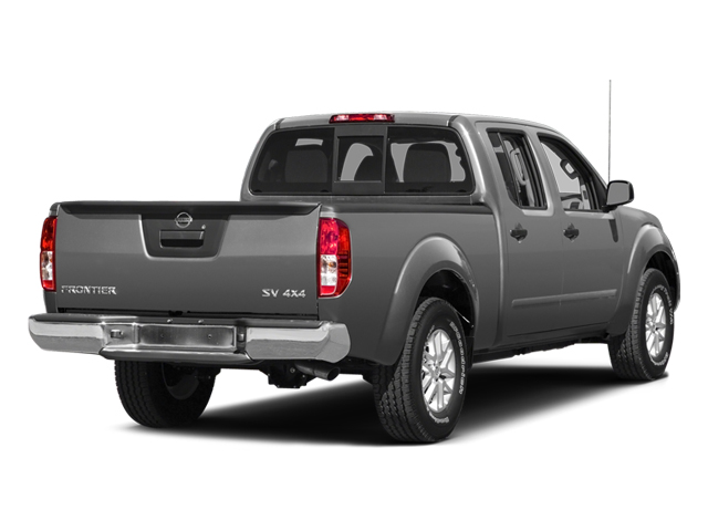 Brilliant Silver 2014 Nissan Frontier Pictures Frontier Crew Cab Desert Runner 2WD photos rear view