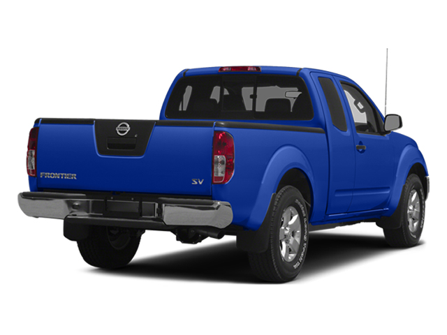 Metallic Blue 2014 Nissan Frontier Pictures Frontier King Cab SV 2WD photos rear view
