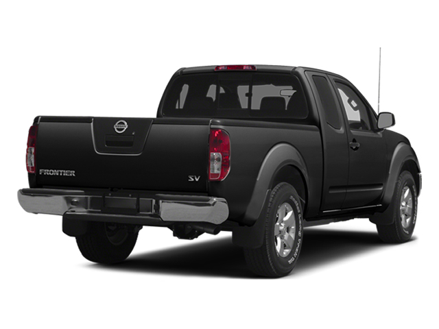 Super Black 2014 Nissan Frontier Pictures Frontier King Cab SV 2WD photos rear view